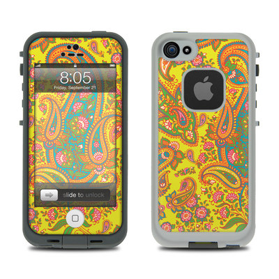 Lifeproof iPhone 5 Case Skin - Bombay Chartreuse