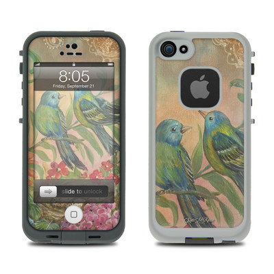 Lifeproof iPhone 5 Case Skin - Splendid Botanical