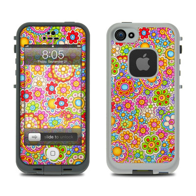 Lifeproof iPhone 5 Case Skin - Bright Ditzy