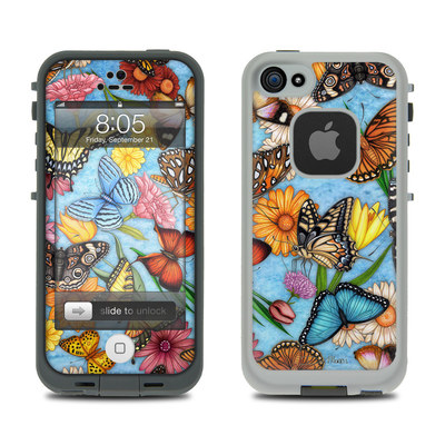 Lifeproof iPhone 5 Case Skin - Butterfly Land