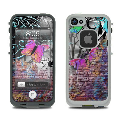 Lifeproof iPhone 5 Case Skin - Butterfly Wall