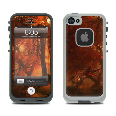 Lifeproof iPhone 5 Case Skin - Canopy Creek Autumn
