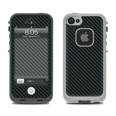 Lifeproof iPhone 5 Case Skin - Carbon