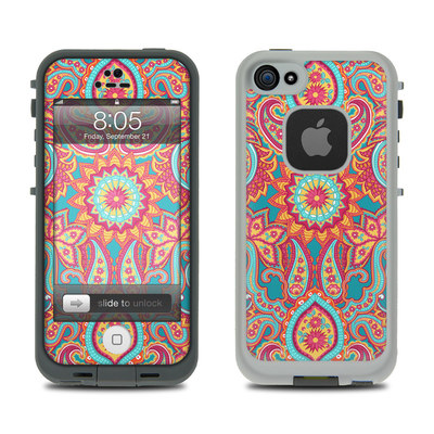 Lifeproof iPhone 5 Case Skin - Carnival Paisley