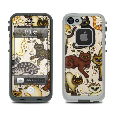 Lifeproof iPhone 5 Case Skin - Cats
