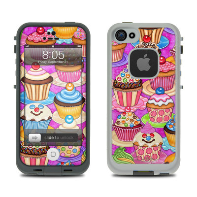Lifeproof iPhone 5 Case Skin - Cupcake