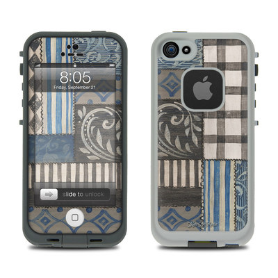 Lifeproof iPhone 5 Case Skin - Country Chic Blue