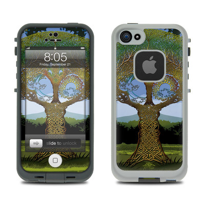 Lifeproof iPhone 5 Case Skin - Celtic Tree