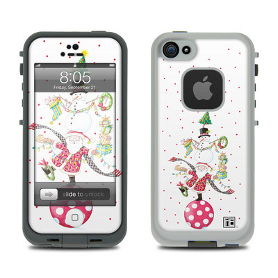 Lifeproof iPhone 5 Case Skin - Christmas Circus