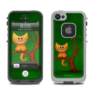 Lifeproof iPhone 5 Case Skin - Cheshire Kitten