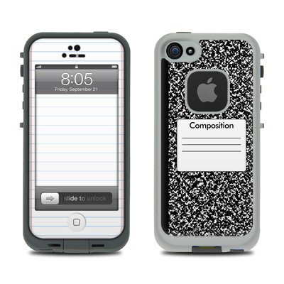 Lifeproof iPhone 5 Case Skin - Composition Notebook