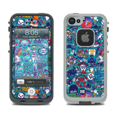 Lifeproof iPhone 5 Case Skin - Cosmic Ray