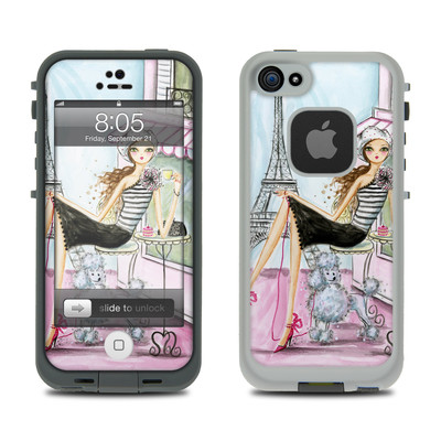 Lifeproof iPhone 5 Case Skin - Cafe Paris