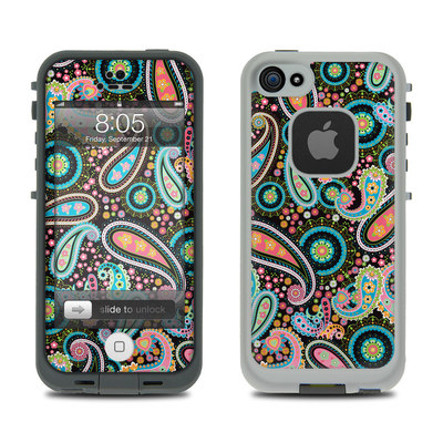 Lifeproof iPhone 5 Case Skin - Crazy Daisy Paisley