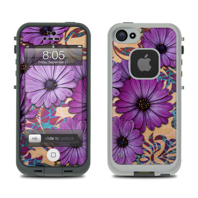 Lifeproof iPhone 5 Case Skin - Daisy Damask
