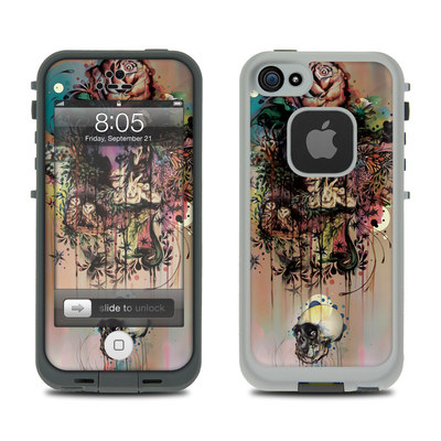Lifeproof iPhone 5 Case Skin - Doom and Bloom