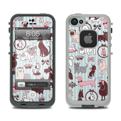 Lifeproof iPhone 5 Case Skin - Doggy Boudoir