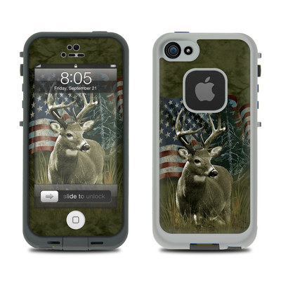 Lifeproof iPhone 5 Case Skin - Deer Flag