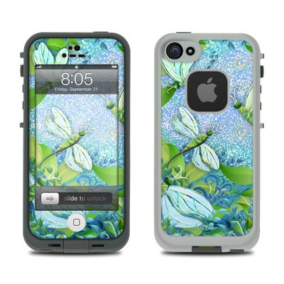 Lifeproof iPhone 5 Case Skin - Dragonfly Fantasy
