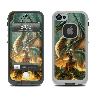Lifeproof iPhone 5 Case Skin - Dragon Mage