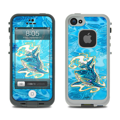 Lifeproof iPhone 5 Case Skin - Dolphin Daydream