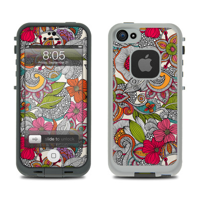 Lifeproof iPhone 5 Case Skin - Doodles Color