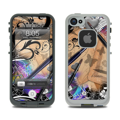 Lifeproof iPhone 5 Case Skin - Dream Flowers