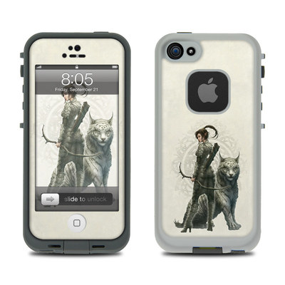 Lifeproof iPhone 5 Case Skin - Half Elf Girl