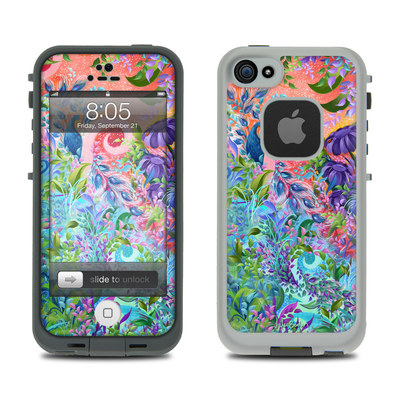 Lifeproof iPhone 5 Case Skin - Fantasy Garden