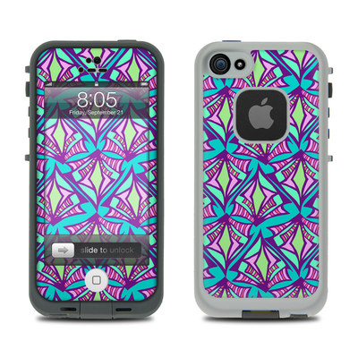Lifeproof iPhone 5 Case Skin - Fly Away Teal