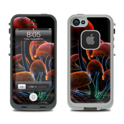 Lifeproof iPhone 5 Case Skin - Fluorescence Rainbow