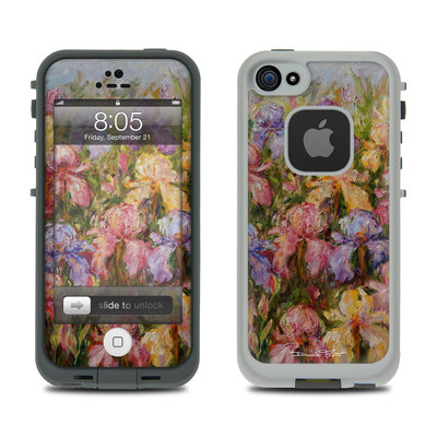 Lifeproof iPhone 5 Case Skin - Field Of Irises
