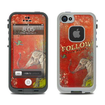 Lifeproof iPhone 5 Case Skin - Follow Your Bliss