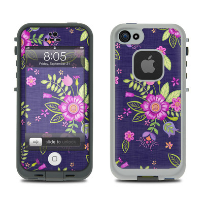 Lifeproof iPhone 5 Case Skin - Folk Floral