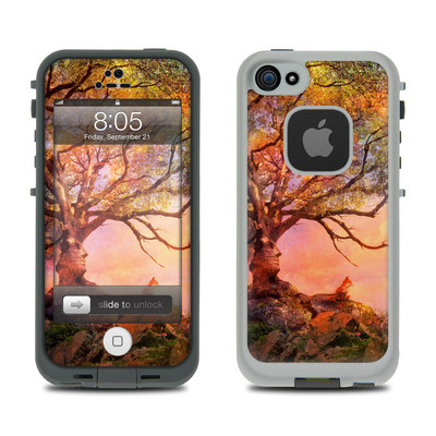 Lifeproof iPhone 5 Case Skin - Fox Sunset