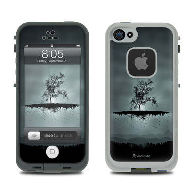 Lifeproof iPhone 5 Case Skin - Flying Tree Black