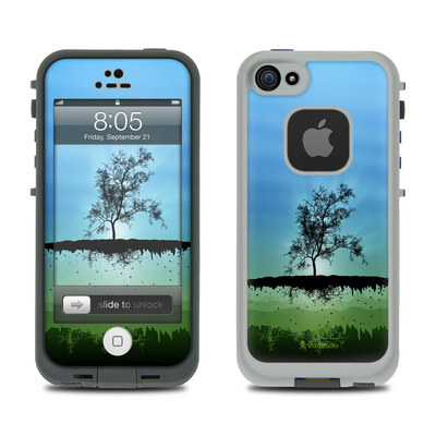 Lifeproof iPhone 5 Case Skin - Flying Tree Blue