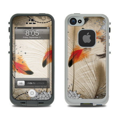 Lifeproof iPhone 5 Case Skin - Feather Dance
