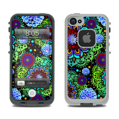 Lifeproof iPhone 5 Case Skin - Funky Floratopia