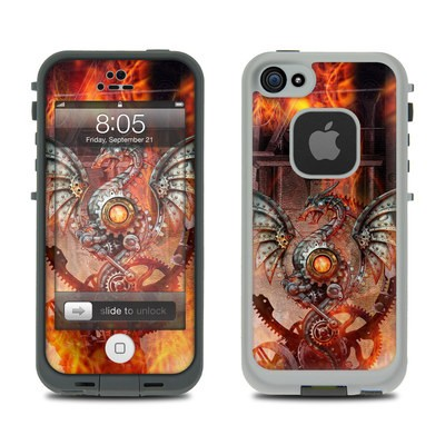 Lifeproof iPhone 5 Case Skin - Furnace Dragon