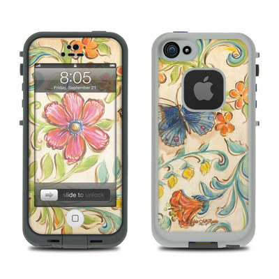 Lifeproof iPhone 5 Case Skin - Garden Scroll