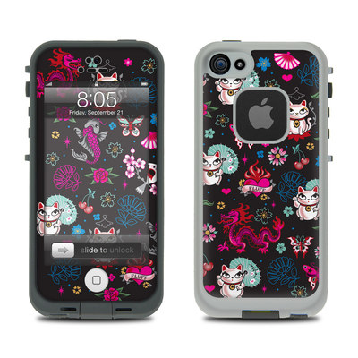 Lifeproof iPhone 5 Case Skin - Geisha Kitty