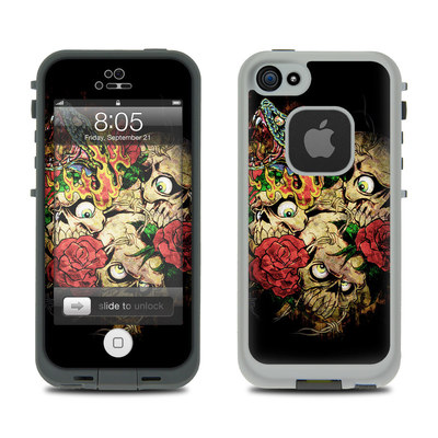 Lifeproof iPhone 5 Case Skin - Gothic Tattoo