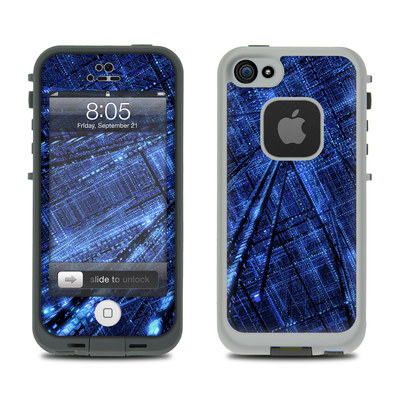 Lifeproof iPhone 5 Case Skin - Grid