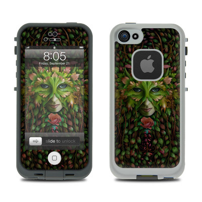 Lifeproof iPhone 5 Case Skin - Green Woman