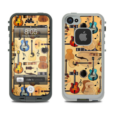 Lifeproof iPhone 5 Case Skin - Guitar Collage