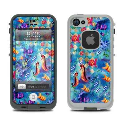Lifeproof iPhone 5 Case Skin - Harlequin Seascape