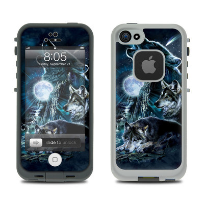 Lifeproof iPhone 5 Case Skin - Howling
