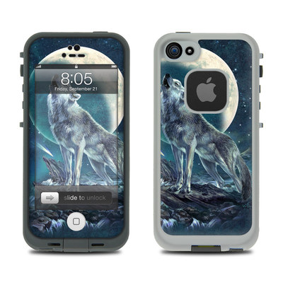 Lifeproof iPhone 5 Case Skin - Howling Moon Soloist