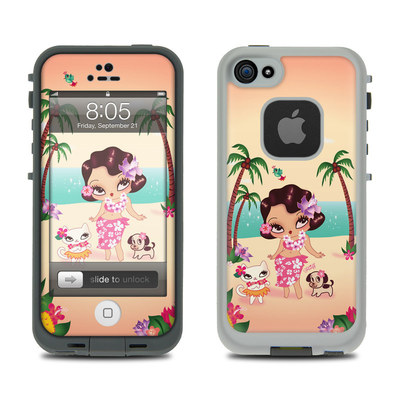 Lifeproof iPhone 5 Case Skin - Hula Lulu